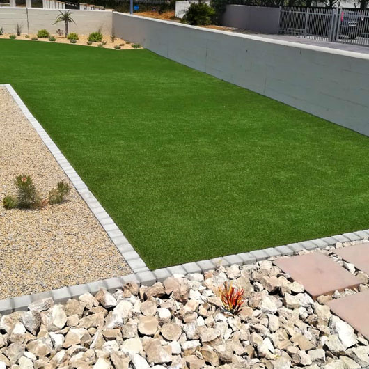 low maintenance synthetic lawn
